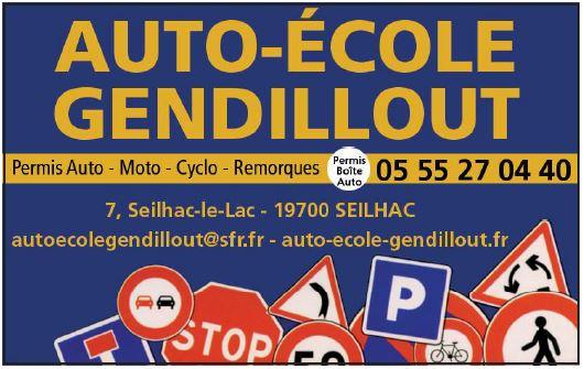 Logo de l'entreprise Auto école Gendillout